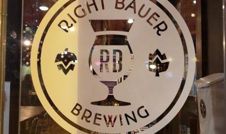 Right Bauer Brewing, Sun Prairie, Wisconsin, along Highway 19