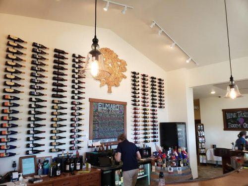 Tasting Room at Elmaro Vineyard & Winery, Trempealeau, Wisconsin