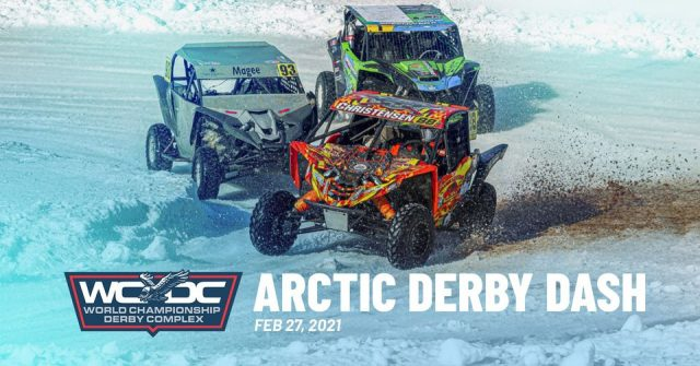 Arctic Derby Dash, at the World Championship Derby Complex in Eagle River on February 27, 2021