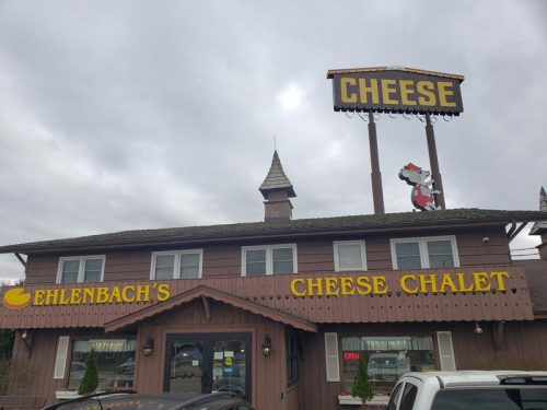 Ehlenbach's Cheese Chalet, DeForest, Wisconsin, Exit 126 off I-39/90/94