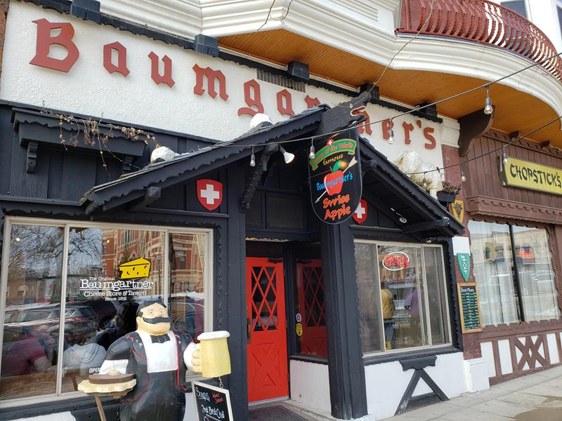 Baumgartner's Cheese Store & Tavern, Monroe, Wisconsin