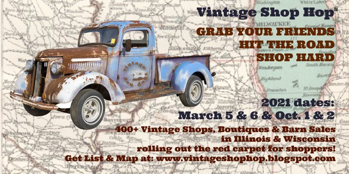 Vintage Shop Hop 2021