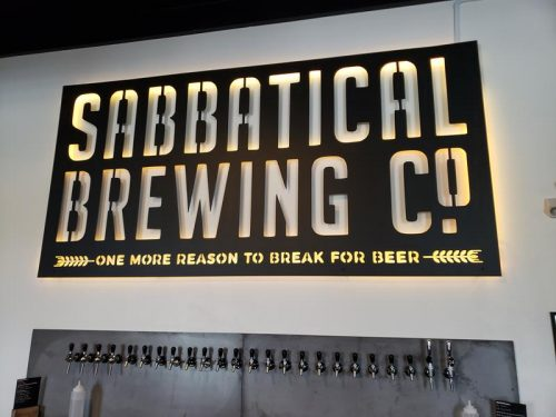 Sabbatical Brewing Company, Manitowoc, Wisconsin