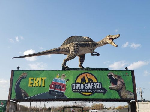 Dino Safari in West Allis, Wisconsin