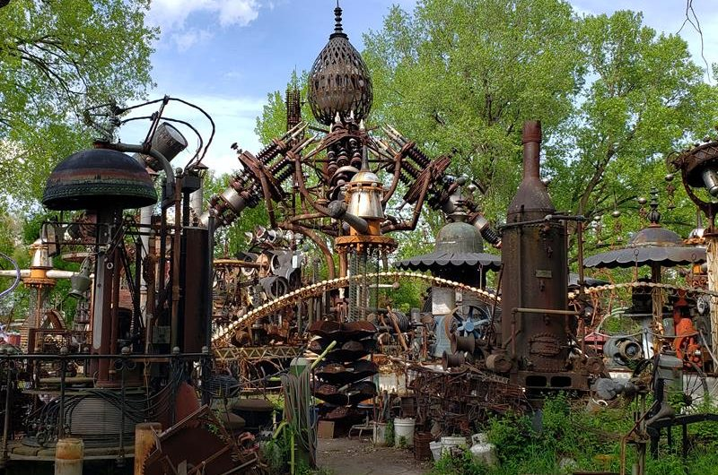 Who knew what you could do with scrap metal? Check out Forevertron and Dr. Evermor's Sculpture Park along U.S. 12