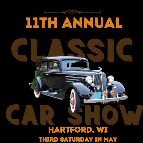 Hartford Classic Car Show in Hartford, Wisconsin