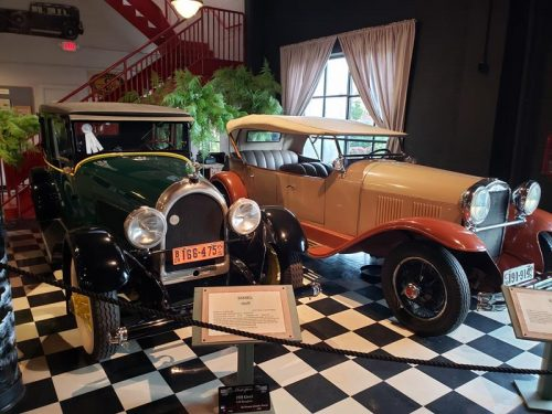 The Kissel display at the Wisconsin Automotive Museum, Hartford, Wisconsin