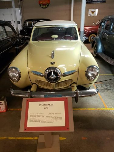 A 1950 Studebaker at the Wisconsin Automotive Museum, Hartford, Wisconsin