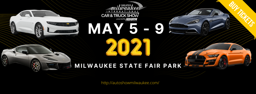 Greater Milwaukee International Car & Truck Show 2021 logo