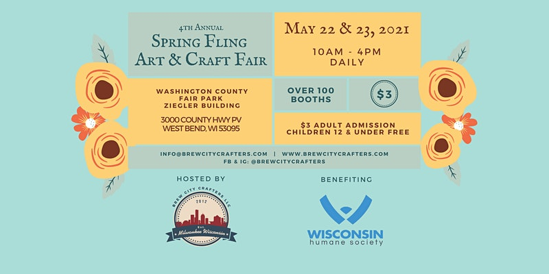 West Bend 4th annual Spring Fling Art & Craft Fair, West Bend, Wisconsin