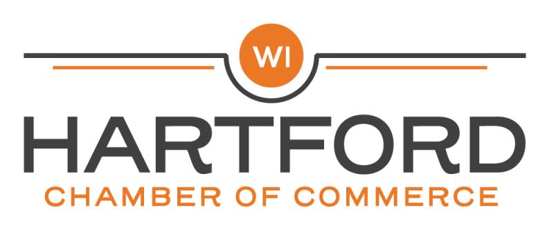 Logo for the Hartford Chamber of Commerce, Hartford, Wisconsin