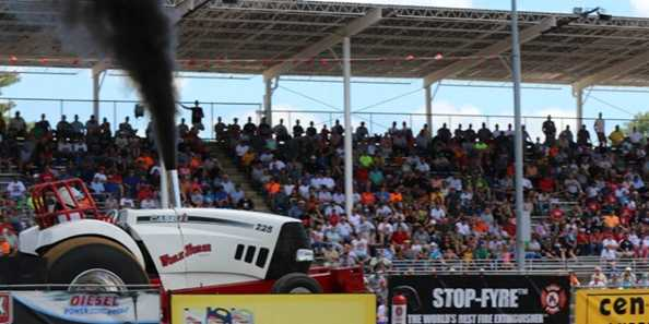 Budweiser Dairyland Super Nationals Truck & Tractor Pull in Tomah, Wisconsin