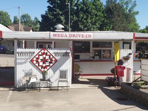 Wega Drive-In, along Highway 110 in Weyauwega, Wisconsin