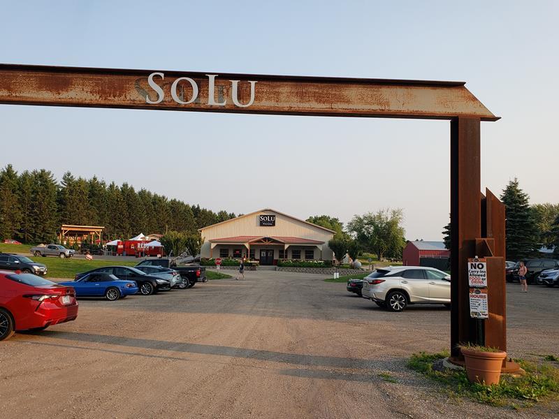 SoLu Estate Winery & Meadery, near Cascade, Wisconsin