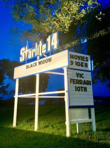 Starlite 14 Drive-In, along U.S. Highway 14 in Richland Center, Wisconsin