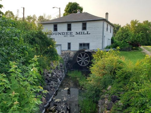 Dundee Mill, just off Highway 67 in Dundee, Wisconsin