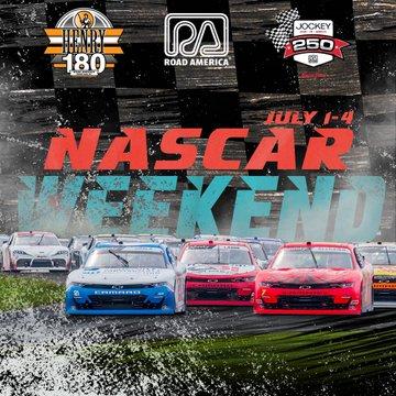NASCAR Weekend at Road America in Elkhart Lake, Wisconsin, July 1-4. 2021