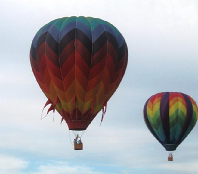 Hartford Hot Air Balloon Rally, Saturday, August 7, 2021 at Hartford Municipal Airport in Hartford, Wisconsin
