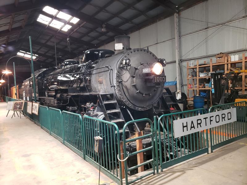 Soo Line Locomotive at the Wisconsin Automotive Museum, Hartford, Wisconsin