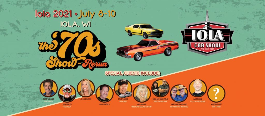 Iola Car Show and Swamp Meet, 2021 in Iola, Wisconsin