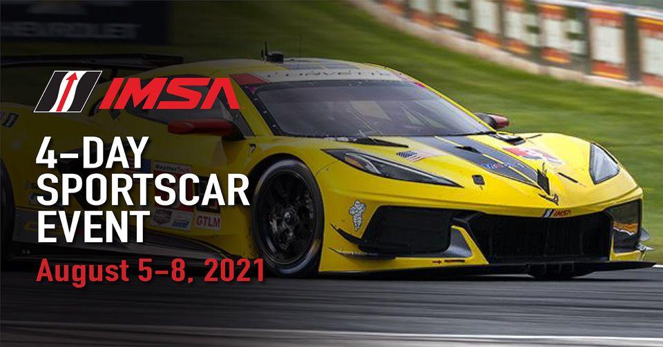 IMSA Sports Car Weekend at Road America, August 5-8, 2021 in Elkhart Lake, Wisconsin