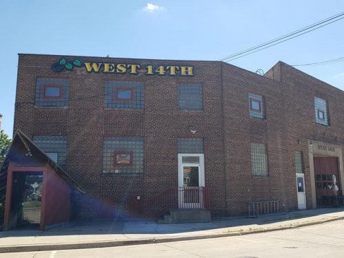 The West 14th Building - ironically on 9th Street - just off Central Avenue in Marshfield, Wisconsin. The Blue Heron Brewpub is in part of this complex