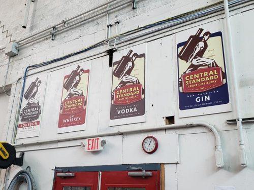 Variety at Central Standard Distillery, Milwaukee, Wisconsin