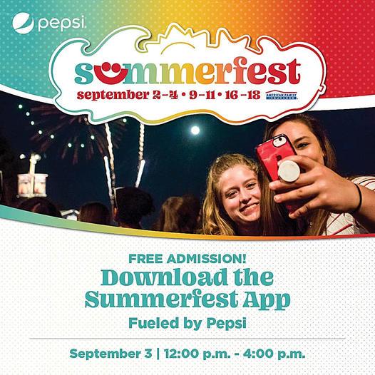 Summerfest app