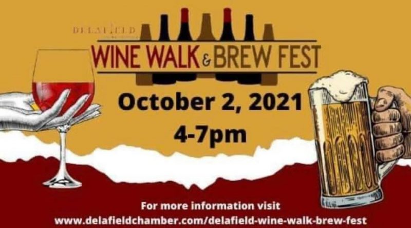 Delafield Wine Walk & Brew Fest, Saturday, October 2, 2021
