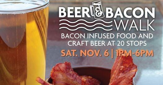 Downtown Racine Beer & Bacon Walk, Saturday, November 6, 2021 in Racine, Wisconsin